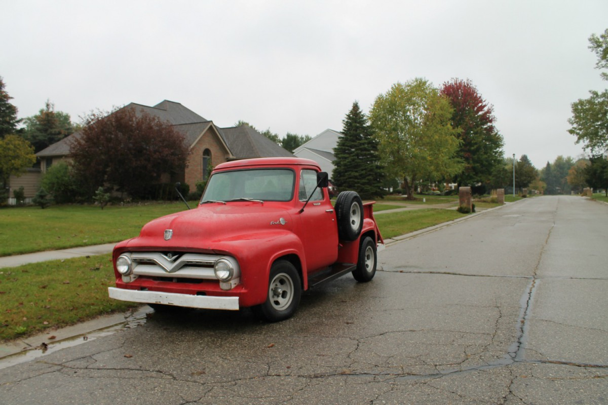 Curbside Capsule 1955 Ford F 100 Paging Fred Sanford F100 History