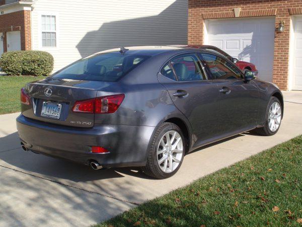 2012 Lexus IS250 Rear View