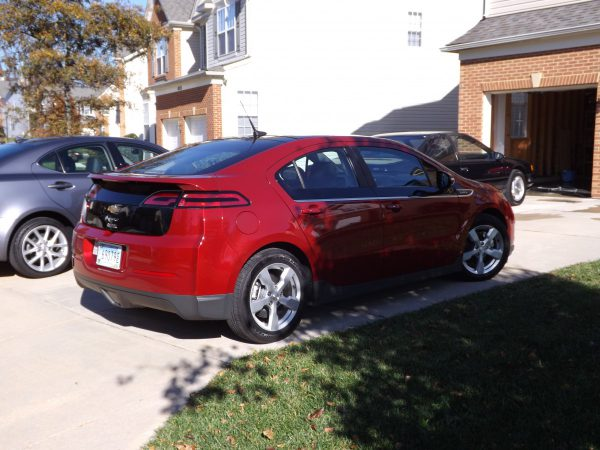 2012 Chevrolet Volt rear view