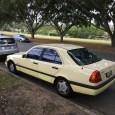 """When I saw this odd, faded yellow C-Class, I thought, """"Wow. Pale yellow might have worked on Benzes in the 1960s and 1970s but it sure doesn't work on a […]"""