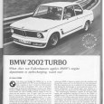 Four cylinder turbos are par for the course in so many cars, including BMWs. But it was an exotic novelty in 1974.