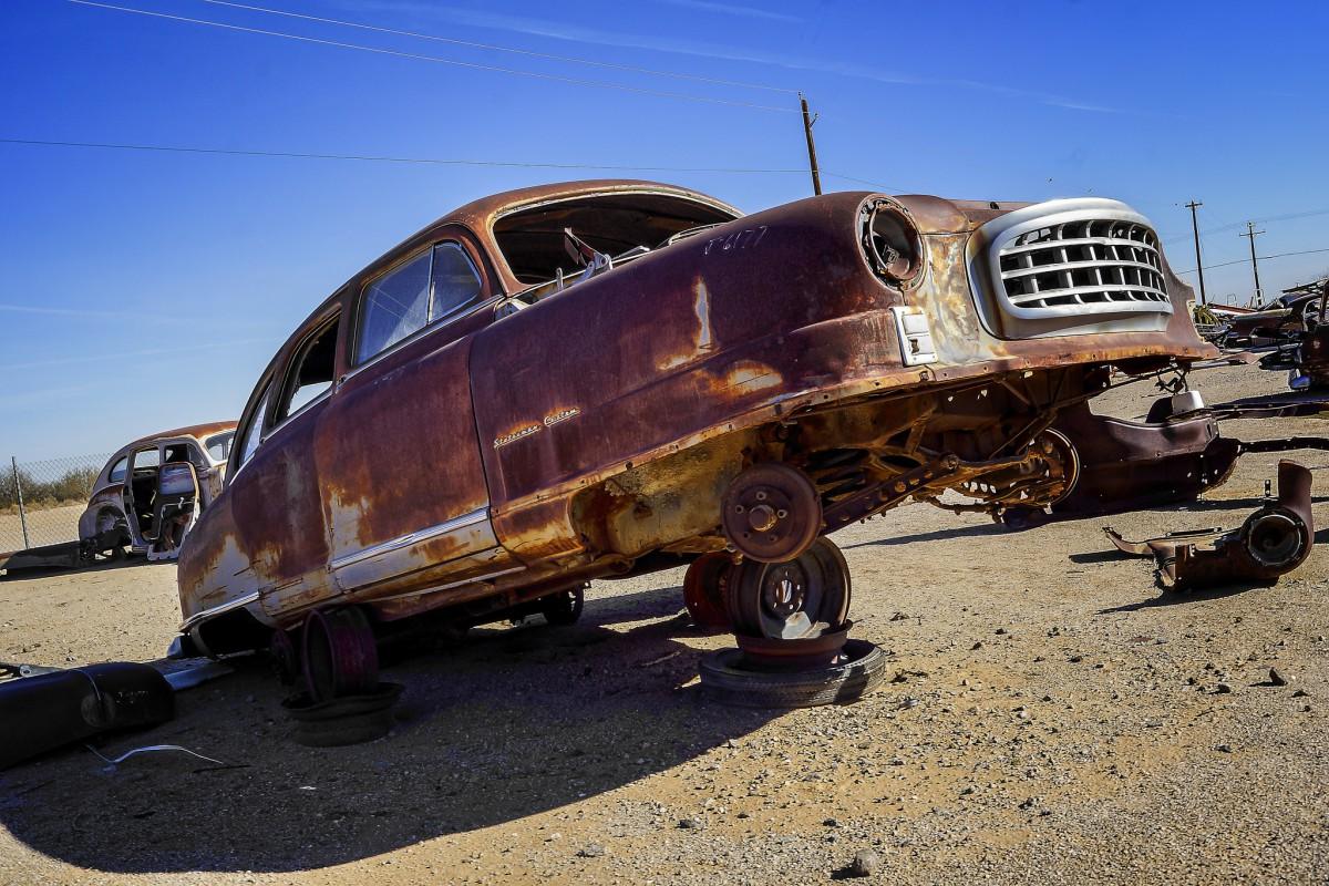 Junkyard Classics: Ralf K Visits Hidden Valley Auto Parts, Part 2 ...