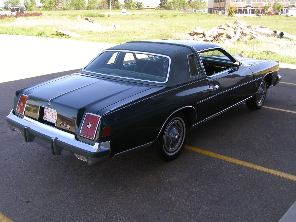 Curbside Classic: 1978 Chrysler Cordoba – Not a Keeper