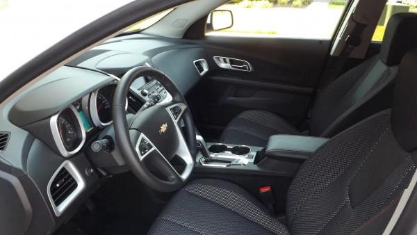 Interior of 2015 Chevrolet Equinox LT