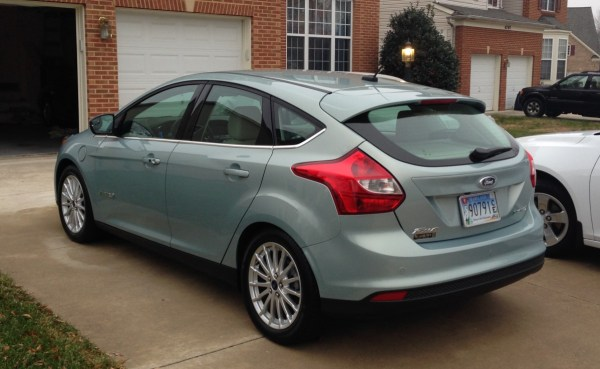 2013 Ford Focus Electric rear view