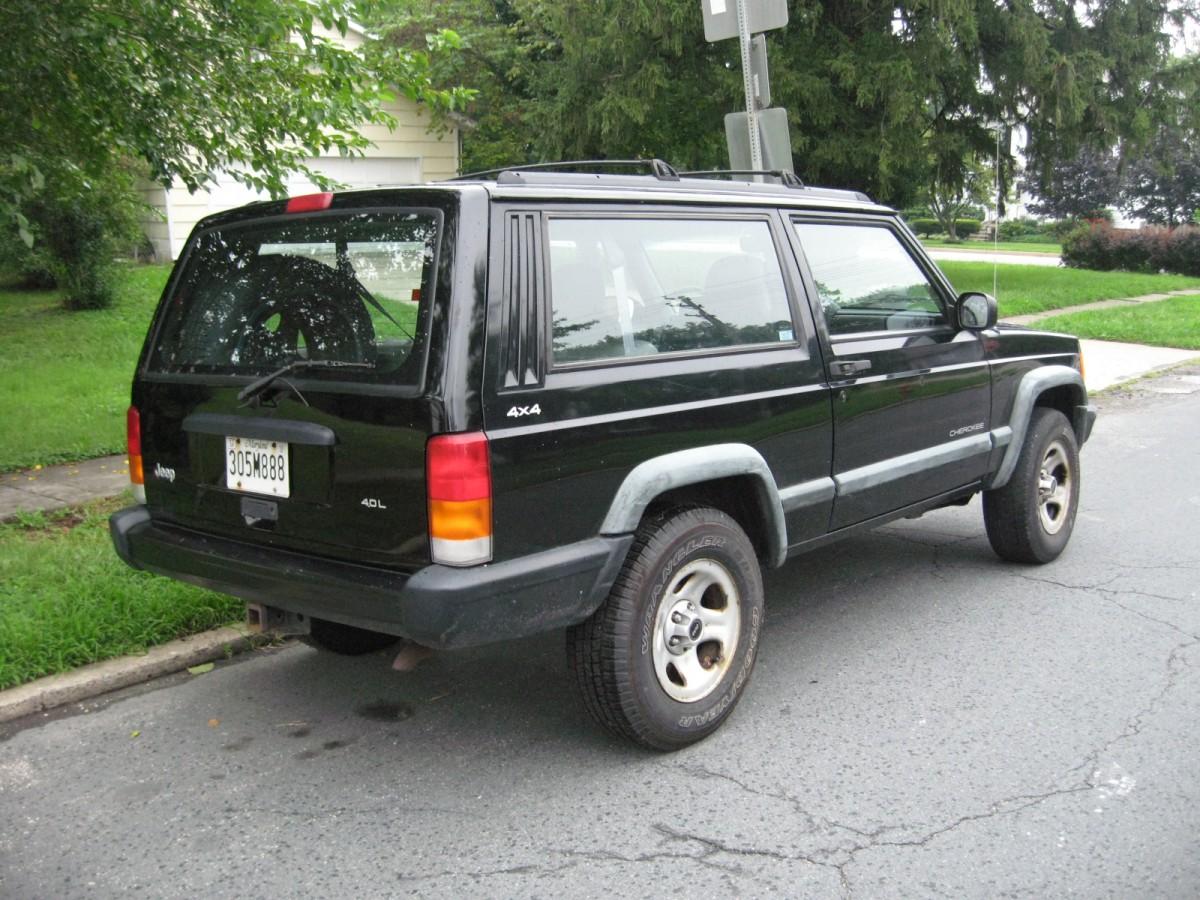 Coal 1998 Jeep Cherokee Sport Two Doors Too Few