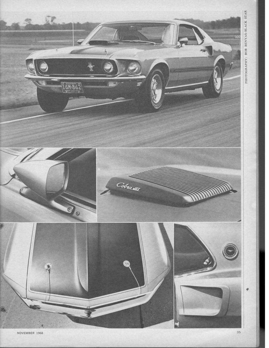 Vintage C&D Review: 1969 Mustang Mach1 428 Cobra-Jet – 59 3