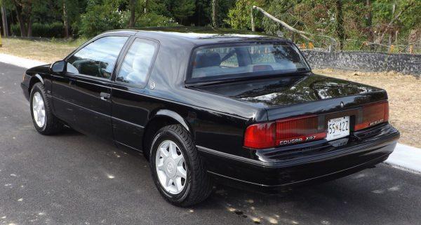 89 Mercury Cougar XR7 rear view
