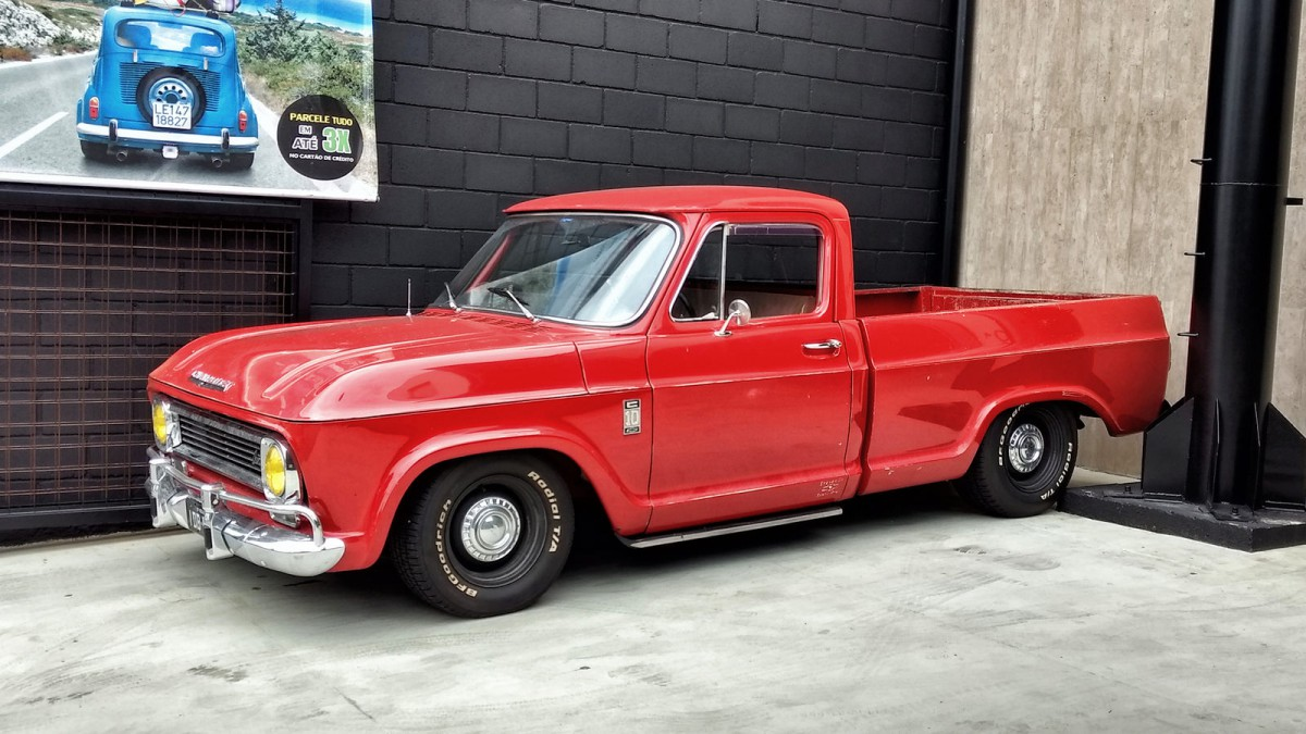 Cohort Outtake: Here\'s a \'73 Chevy C10 Pickup I\'d Like To Have
