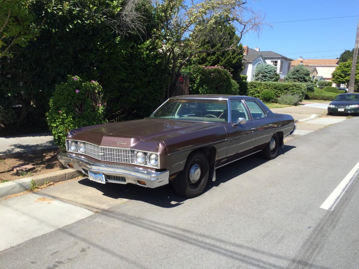 Curbside Classic 1973 Chevrolet Impala Sedan 666 The