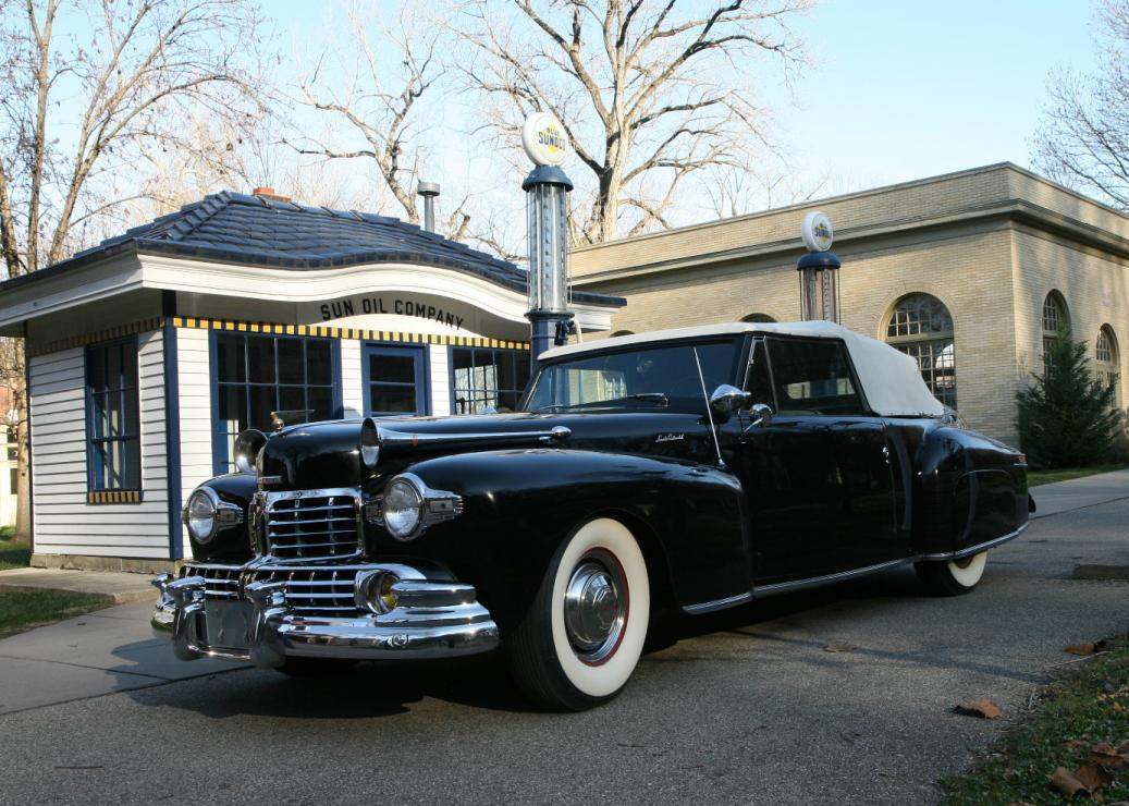 Automotive History 1946 Lincoln Continental Customized And