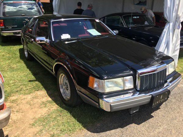 1992 Lincoln Mark VII LSC front