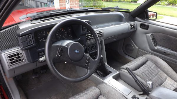 Dash of '87 Mustang GT Convertible