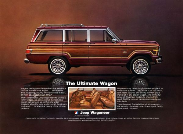 Jeep Wagoneer Late