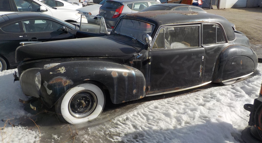 Cc S Best Of 2018 Curbside Classic 1940 41 Lincoln Continental A