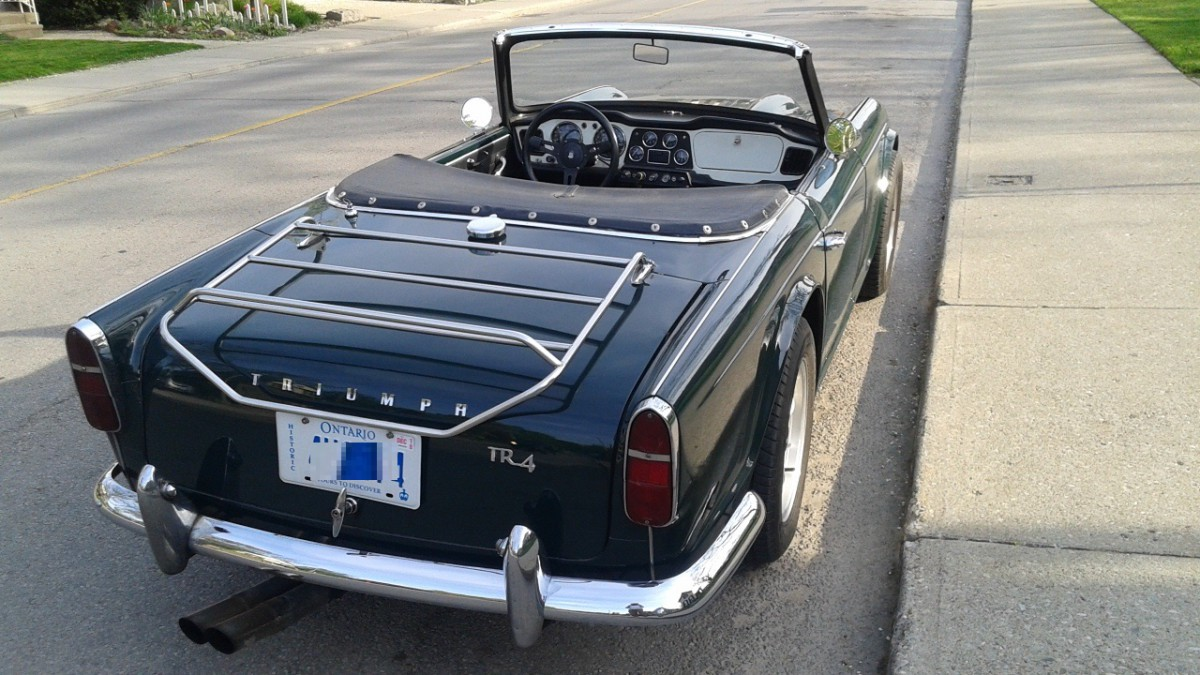 Cc Capsule 1962 Triumph Tr4 What Might Have Been