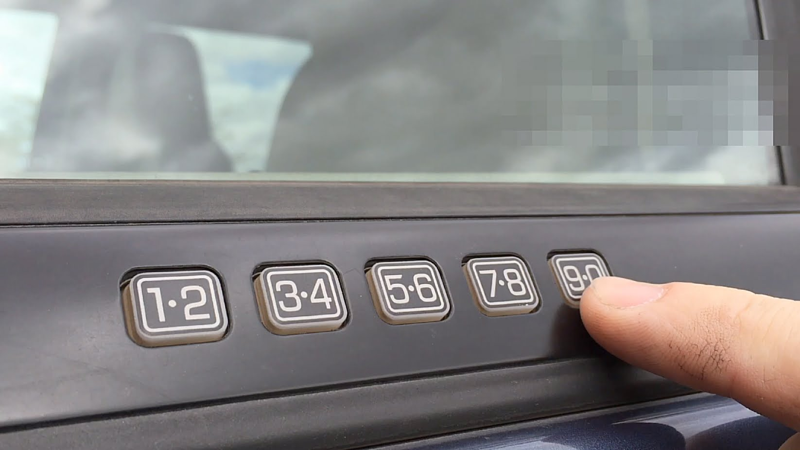 Qotd Ford Owners Do You Still Remember Your Keyless Entry Code Curbside Classic