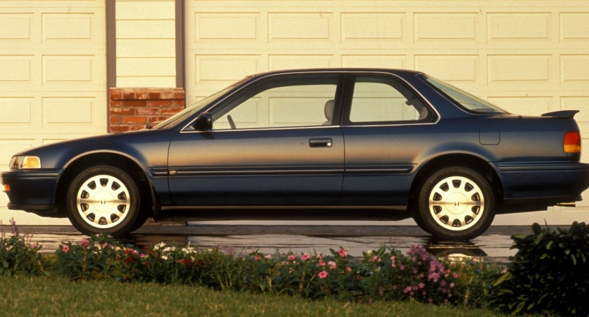Curbside Classic 1990 Honda Accord Lx Coupe Coup Dirrelevance