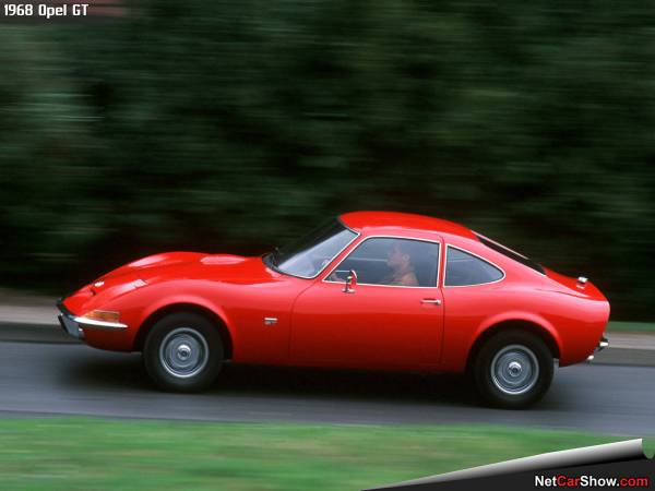 automotive history: the opel gt  1968-1973 – the long road from inspiration  to production with many cooks adding to the broth along the way