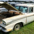 If the 1958 Studebaker Scotsman wagon from last week was all about honest basic transportation, then its platform-mate 1958 Packard Station Wagon is all about faking it until you make […]