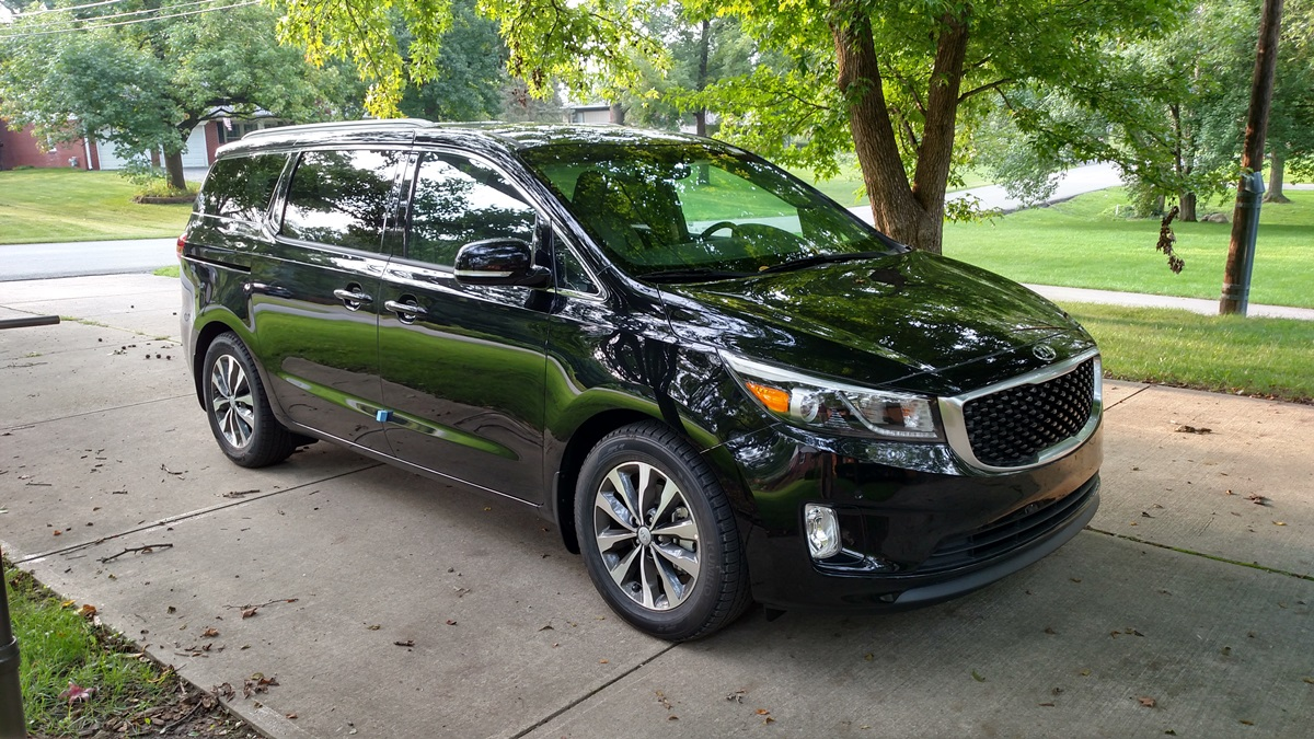 Cc Rental Car Review 2018 Kia Sedona Sx Comparing Apples And Oranges Dash