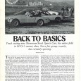 As the Pony Car Wars seen and experienced during the  mid to late 1960's-early 1970's Sports Car Club of America (SCCA) Trans-Am race series began to fade with declining factory […]