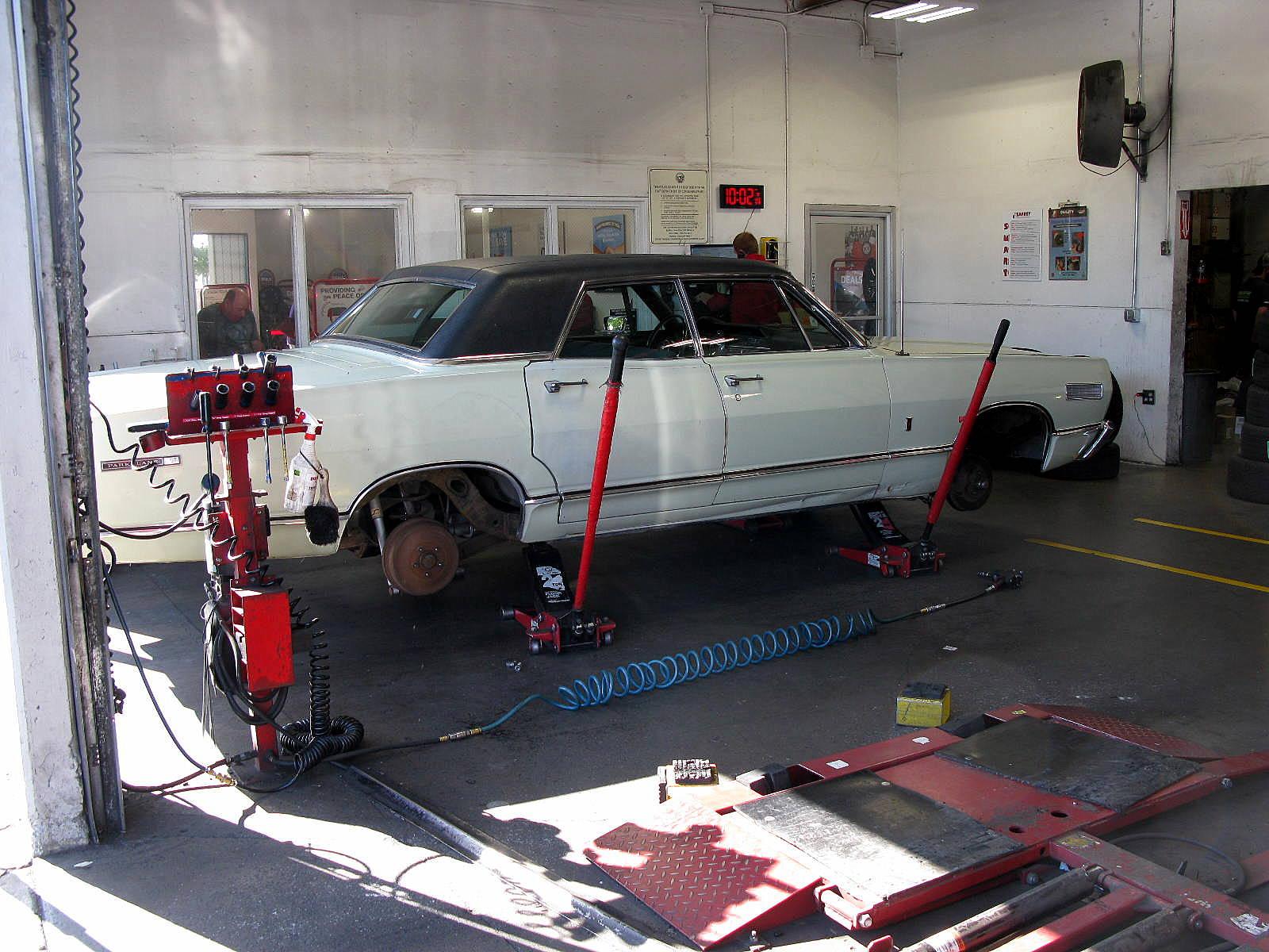 CC DIY Repair & Maintenance: 1967 Mercury Front Suspension Rebuild