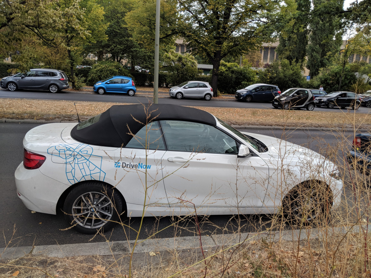 Rental Car Review And Travelogue Exploring Berlin With Bmw S