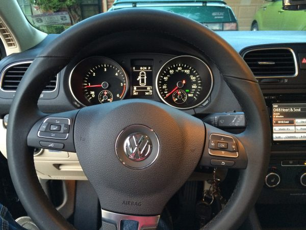 2014 Jetta SportWagen Cockpit
