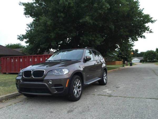 2011 BMW X5 with running boards