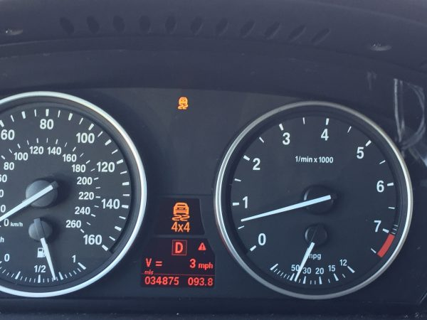 Instrument cluster errors on 2011 BMW X5