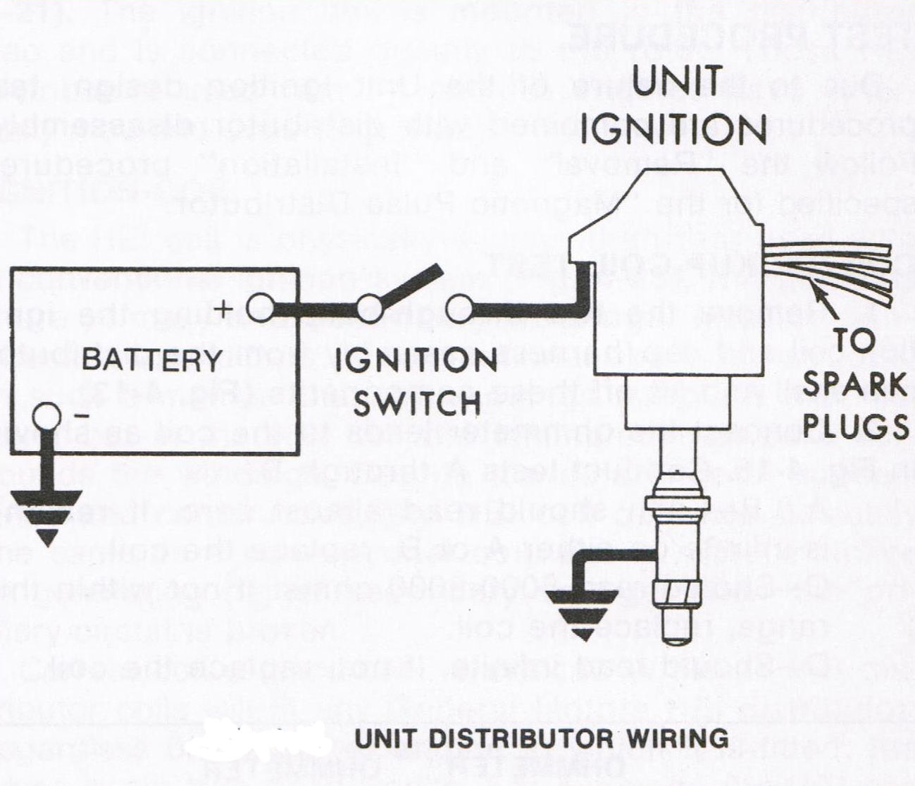 Points Ignition Tachometer Wiring And Charging System Wiring Diagram