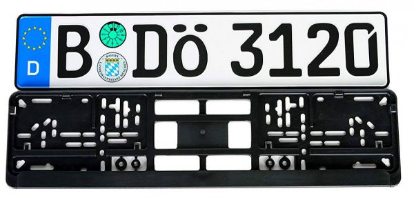 bavarian-license-plate
