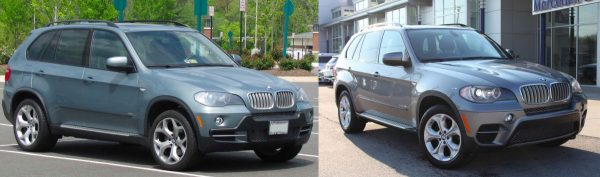 Pre- vs. Post-Facelift X5