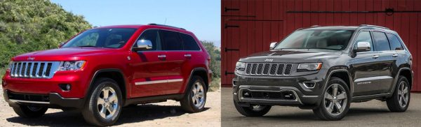 2011 vs 2014 Grand Cherokee