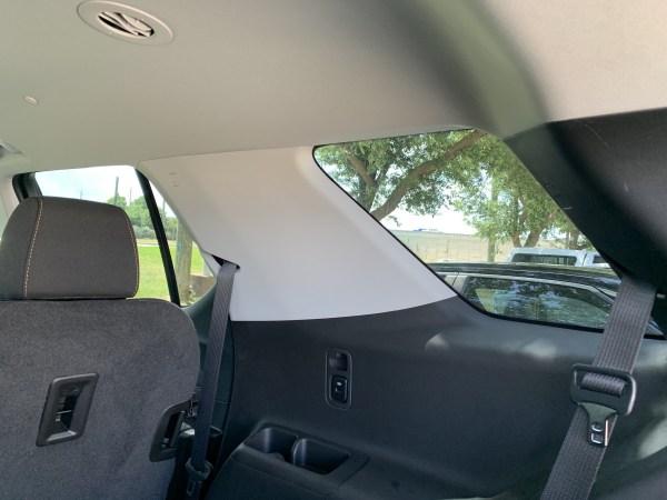 2019 Chevrolet Traverse Blind Spots