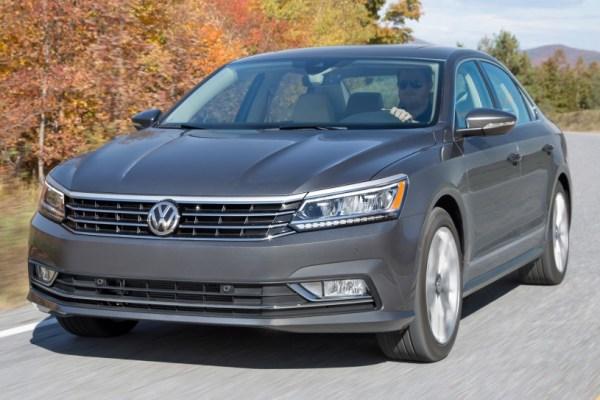 2016-2019 Volkswagen Passat