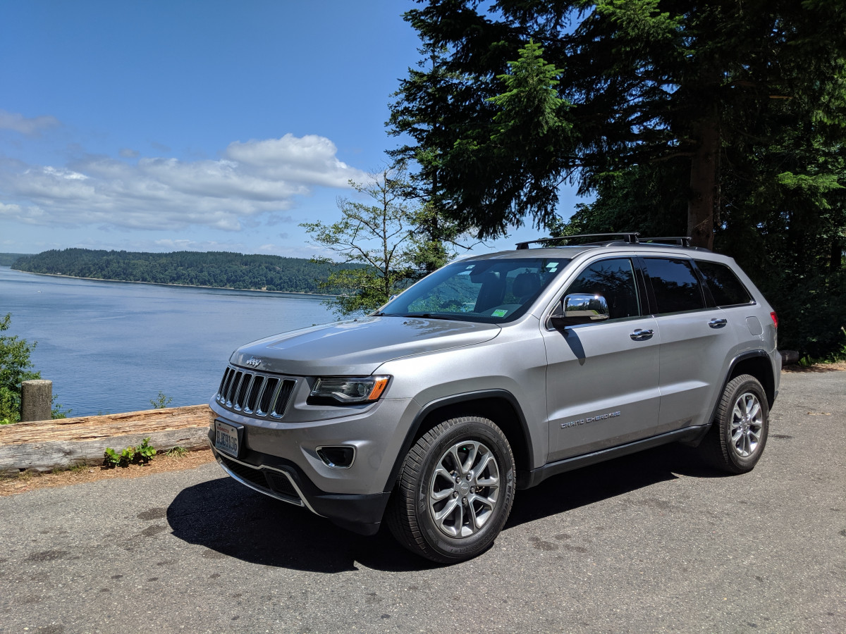 Rental Car Review 2016 Jeep Grand Cherokee Limited Ecodiesel The Ideal Compromise Curbside Classic