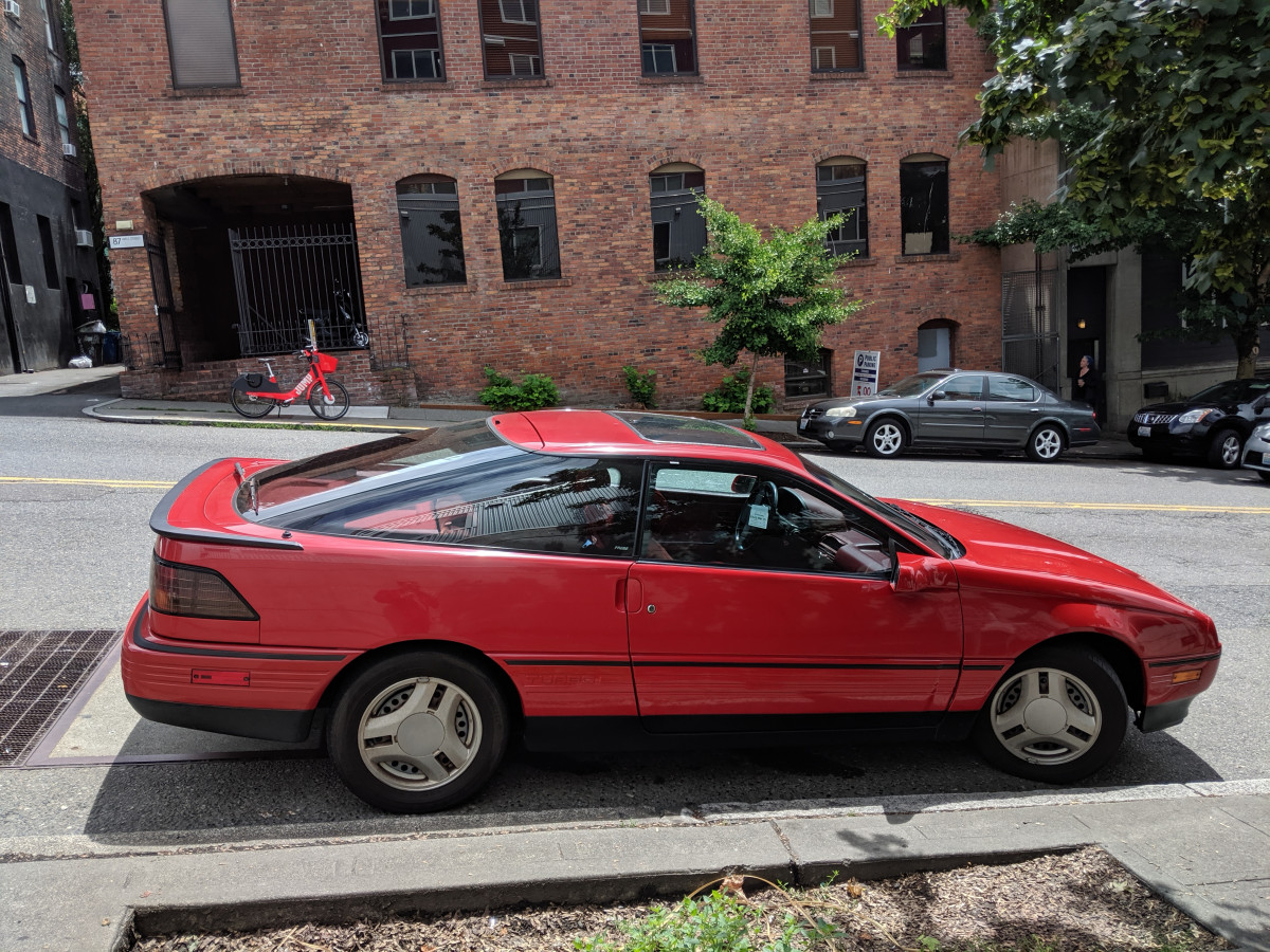 Curbside Classic 1989 92 Ford Probe Protecting A Legacy Curbside Classic
