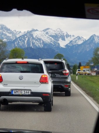 The Bavarian Alps up close