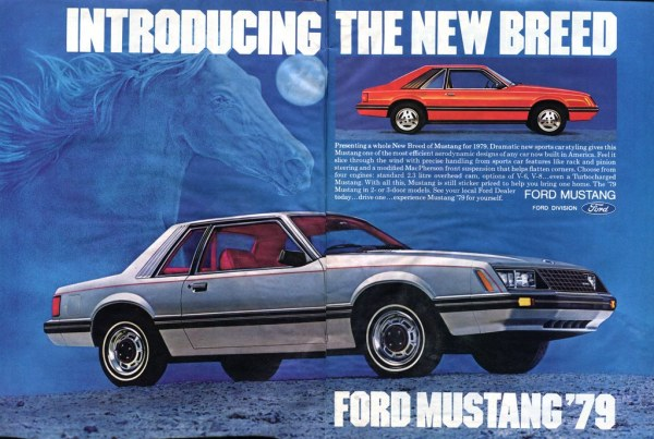 1979 Mustang ad, 2 pages
