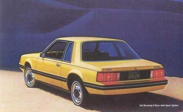 1979 Mustang advertising