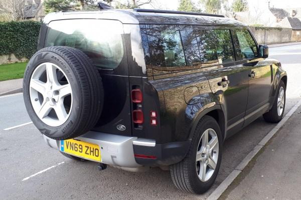 Land Rover Defender 110 Prototype