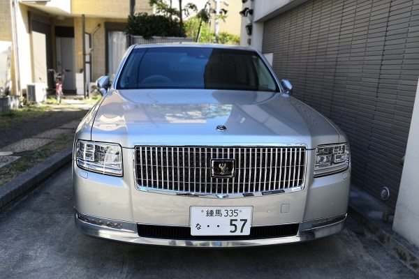 Toyota Century G60 silver (front)