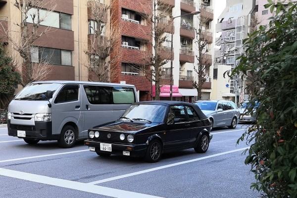 VW Golf 1 Cabriolet (front)
