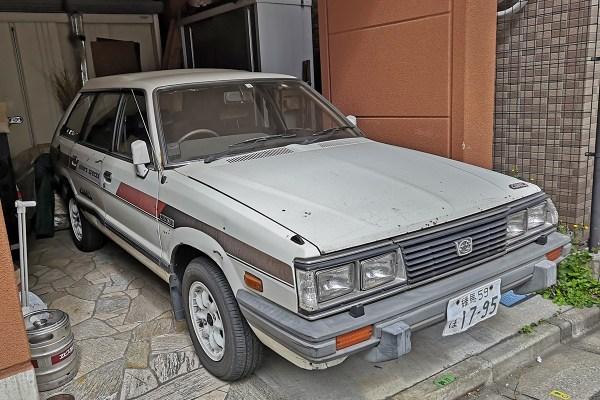 Subaru Leone Wagon (3/4 front)