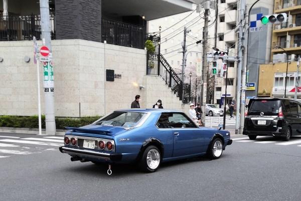 Nissan Skyline C210 coupe (rear)