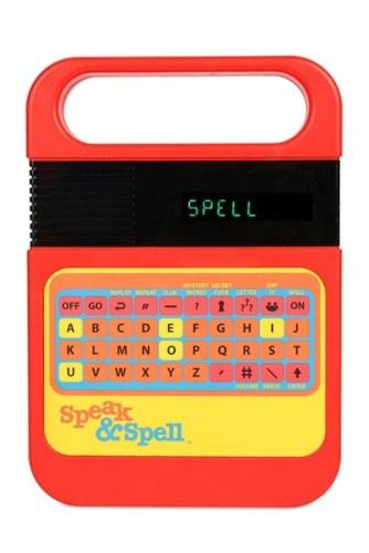 Speak & Spell children's toy