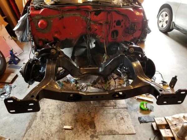 1972 Ford Torino frame restored.