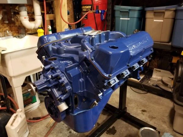 1972 Ford 400 engine